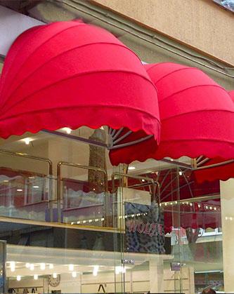 balkon körüklü tente